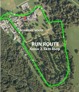 Ashridge Run Leg 1 Course