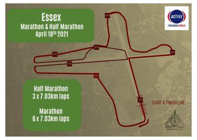 Essex Marathon & Half Marathon – Sunday 18th April 2021