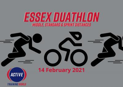 Essex Duathlon – 14 February 2021 CANCELLED